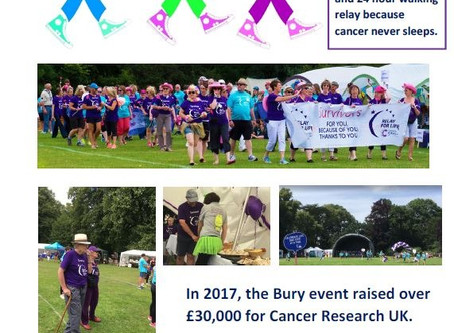 Relay for Life, have fun & support CRUK