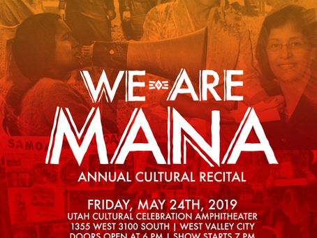 """We are Mana"" Annual Cultural Recital"