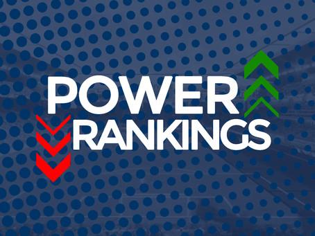 Power Rankings Week 19
