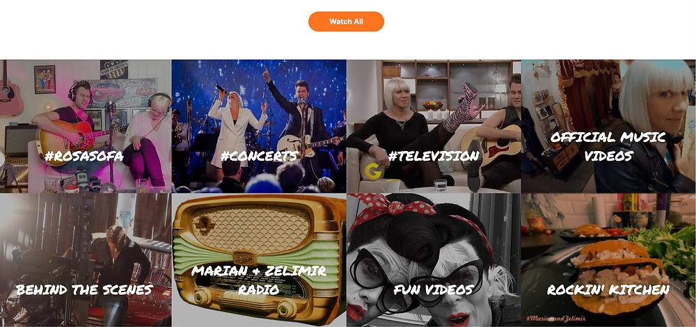 M&Z TV programs