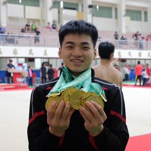 全中運/競技體操國男組最大亮點 莊佳龍橫掃個人單項六面金牌