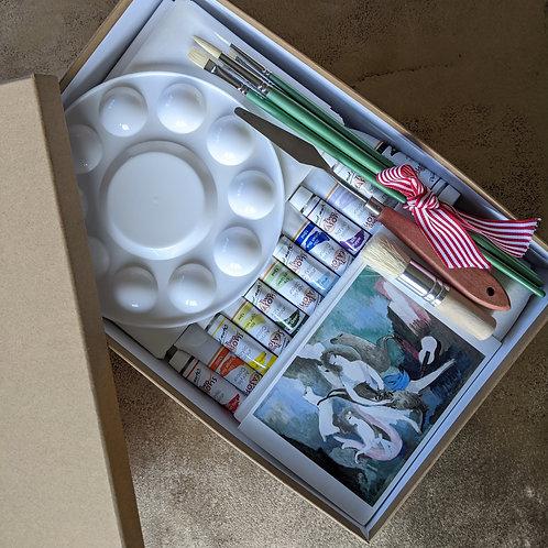Signature Art Box & Tutorial