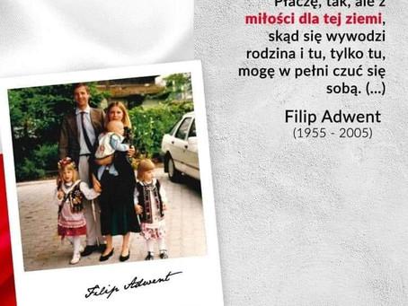 15 lat od śmierci Filipa Adwenta