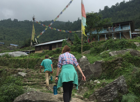 Leaving Kalinchok