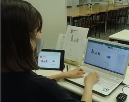 パソコン村 諫早教室 エクセル グラフ作成!