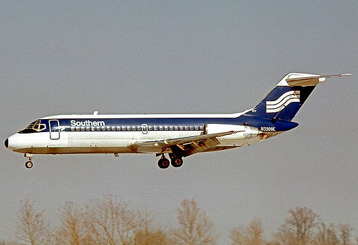 Southern Airways DC-9 -1978_RuthAS - Cre