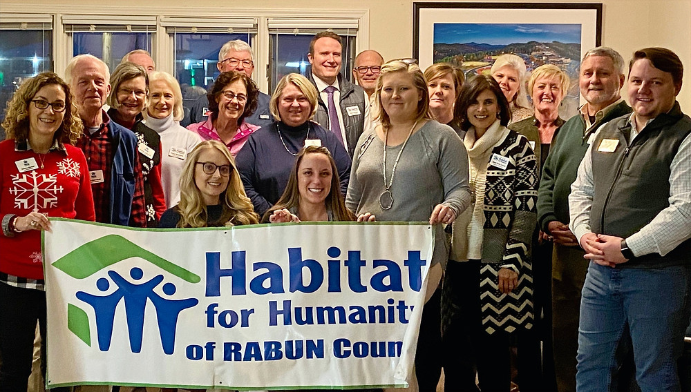 2020 Habitat Rabun Board