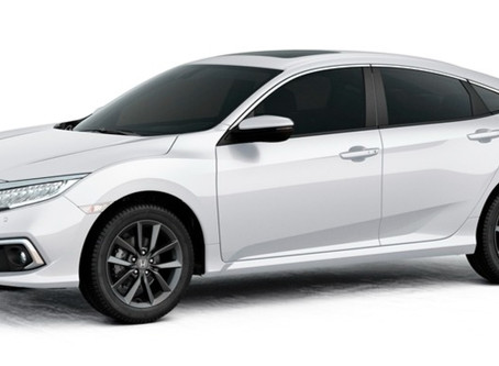 Honda Civic 2021 chega com atualizações nos itens de série
