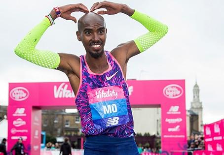 """Mo Farah ganha """"The Vitality Big Half"""" a nova meia maratona de Londres"""