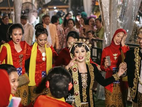 Traditional Reception with a Fun Classic-Disco Twist at Plataran Cilandak, Jakarta