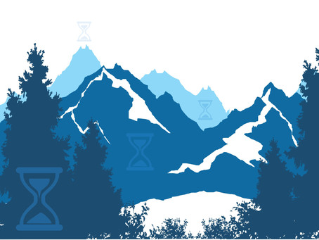 Mountain Climbing of Life's Hourglass