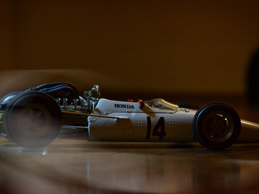 the race car with an incredible story - Honda RA300