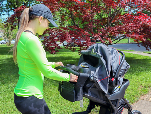 Why All Moms Need A Stroller Organizer + Giveaway Inside
