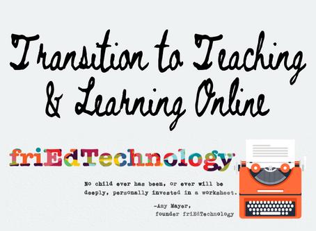 Teaching Online: Crash Course