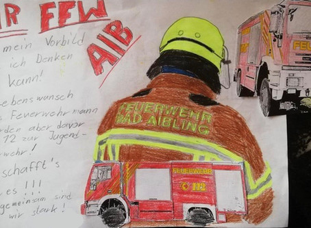 Die Freiwillige Feuerwehr Bad Aibling sagt Danke