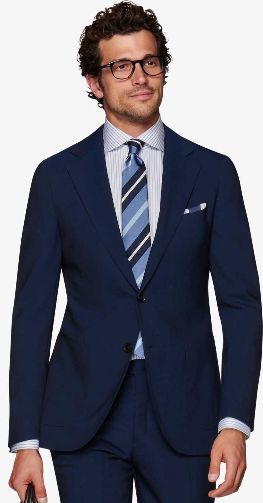 Suitsupply Navy Jort Suit  P6093i