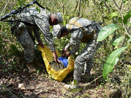 Fuerza pública halla  depósito con material de guerra  en los Montes de María