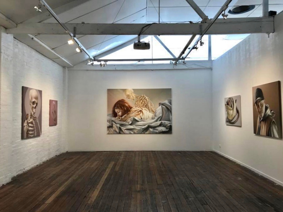 The Juddy Roller Gallery in Melbourne held an exhibition with art from Australian Sam Bates; known for his Street Art and huge Wall Art and Murals around the world