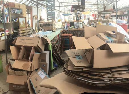 Cardboard Cleanup!