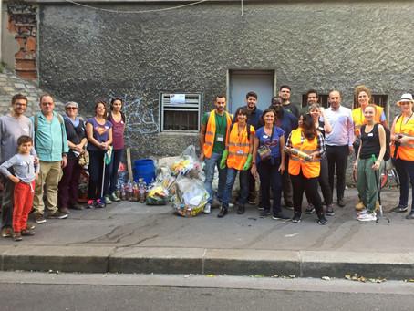 World Cleanup Day - 19 sept. 2020 - Porte de Vincennes