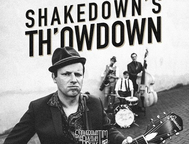 "Shakedown Tim & The Rhythm Revue releasen ""Shakedown's Th'owdown"""