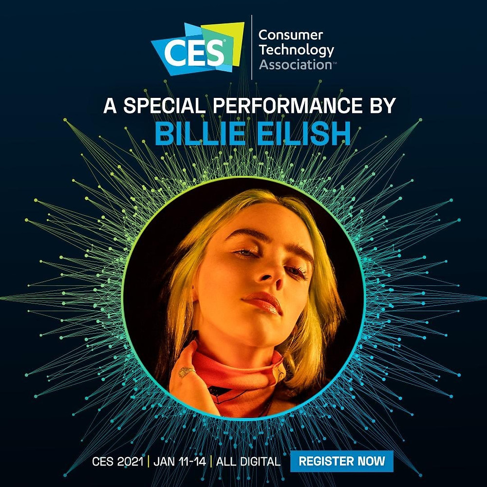 @billieeilish is heading to CES