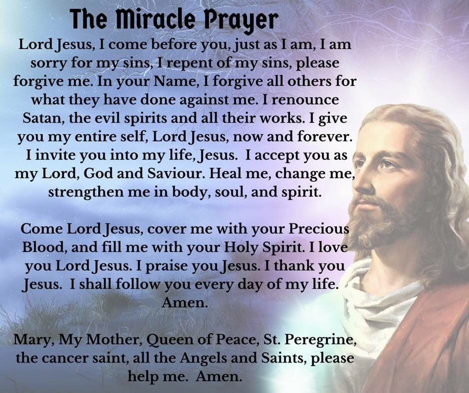Say this prayer on a daily basis