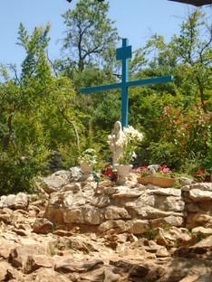 La Virgencita en Blue Cross