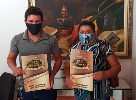 Novos Associados Sra. Leonere Souza Pedroso e o filho Thiago Pedroso da Vila Bom Jardim em Nobres MT