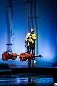 Игорь Бутман в спектакле «Онегин-блюз»
