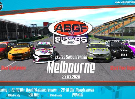 ABGF V8 Supercars: Saisonauftakt im Albert Park