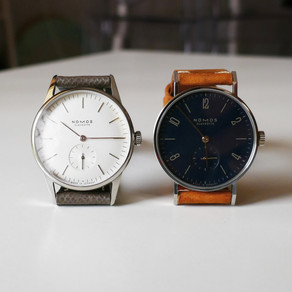 The NOMOS Two Watch Collection
