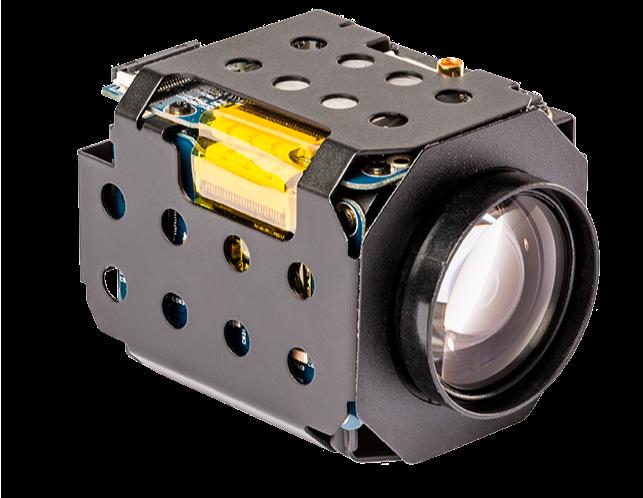 skoopia 20Z10S-NF - 10x optical zoom block with AHD, CVBS, EX/3G/HD-SDI