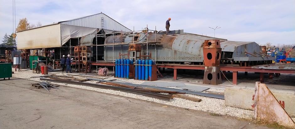 Продолжается постройка двух судов проекта PV20S.