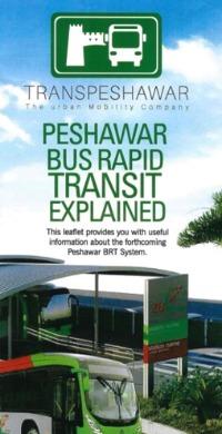 BRT system in Pesharwar