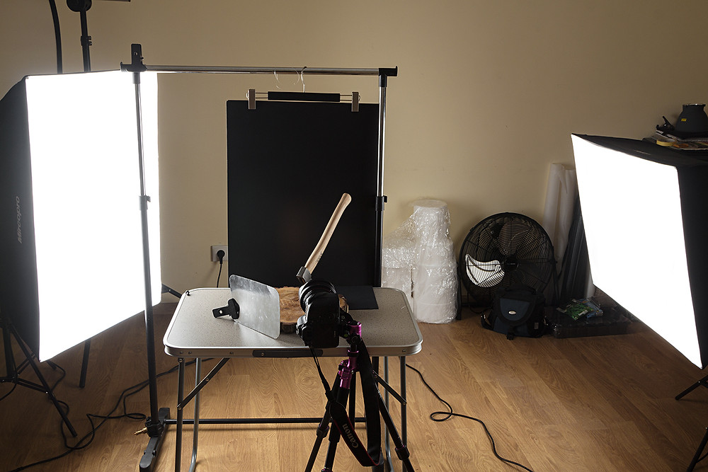 Предметная студийная съемка. Схема света. Backstage