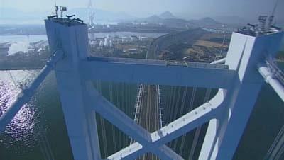 【NHK総合】瀬戸大橋開通20周年記念番組「天空の旅 瀬戸大橋」