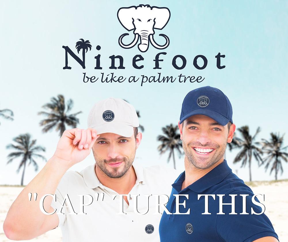 Ninefoot Be like a palm tree baseball caps