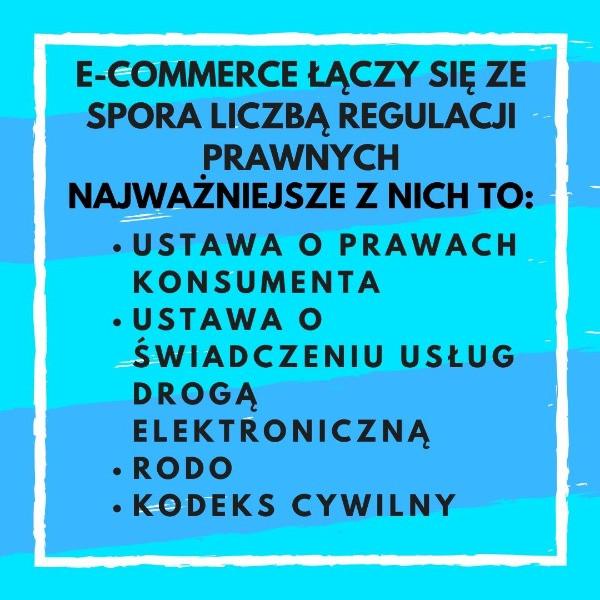 Infografika - prawo w ecommerce