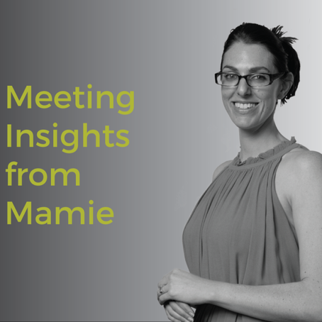 Meeting Insights from Mamie