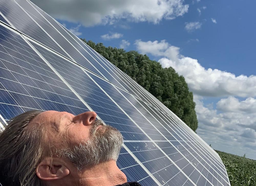 Keith Soaking up the Sun in Illinois