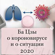 Ба Цзы о коронавирусе и о ситуации 2020
