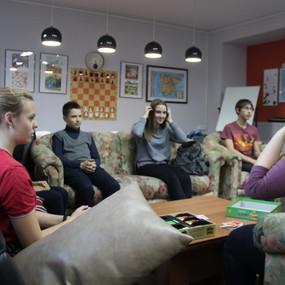 Настольные игры на уроке английского языка в «Интерлэнг»
