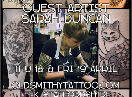 Sarah Duncan - Guest Artist - 18th & 19th April 2019