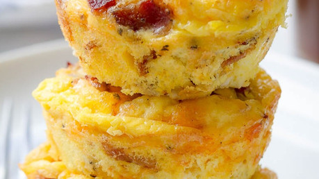 Deliciously healthy egg muffins!