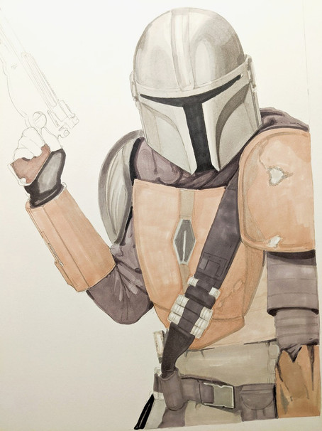 Mandalorian Work In Progress #2
