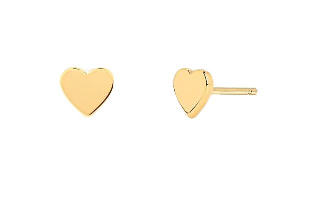 Mini Heart Stud Earrings