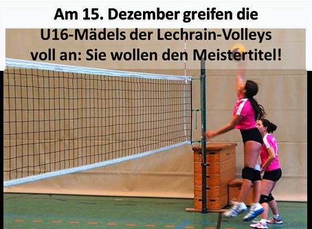 Volleyball-Mädels greifen an