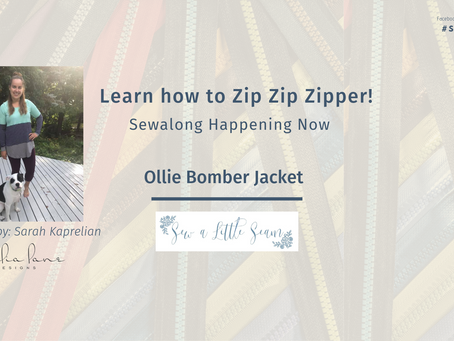 Sew Along with ALD - Sew A Little Seam Ollie Bomber Jacket