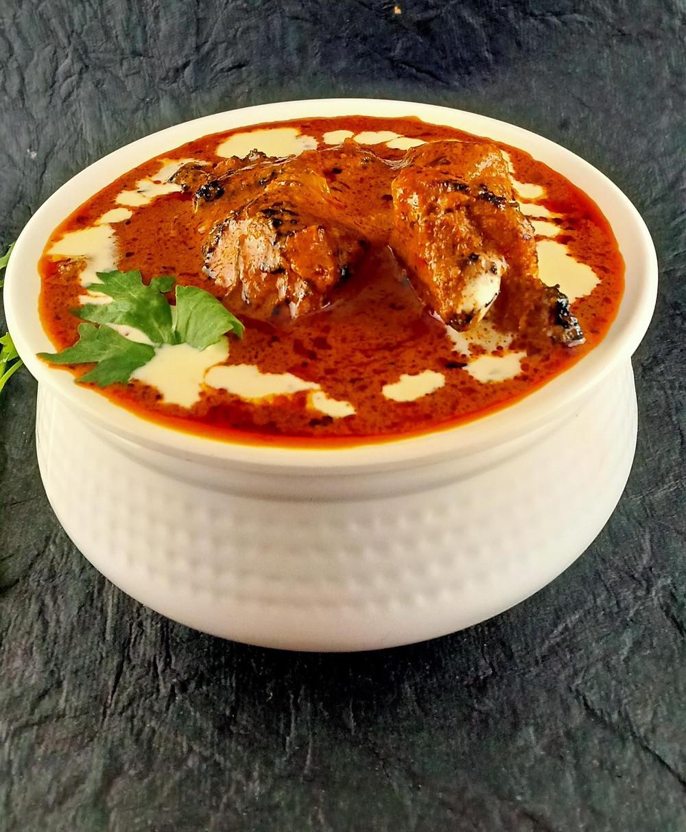 Restaurant Style Chicken Tikka Masala.